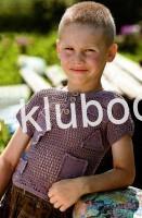 Рубашка - сетка для мальчика