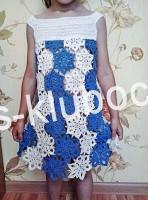 платье крючком, вид сзади 2