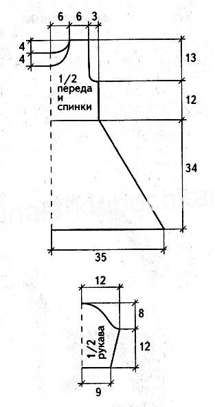 схема к платью 1